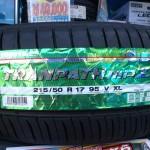 TOYO TIRES TRANPATH mpZ 215/50R17 95V XL