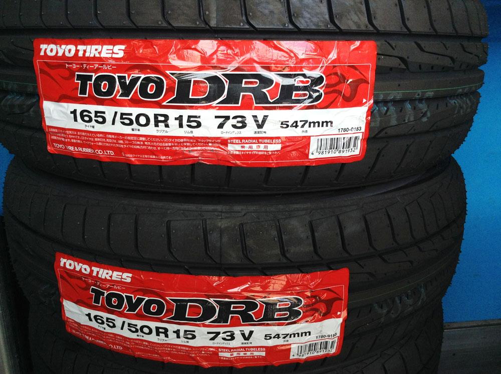 TOYO DRB 165/50R15 73V