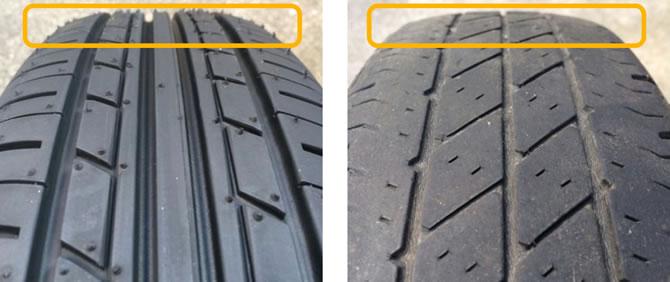 タイヤの点検・交換時期
